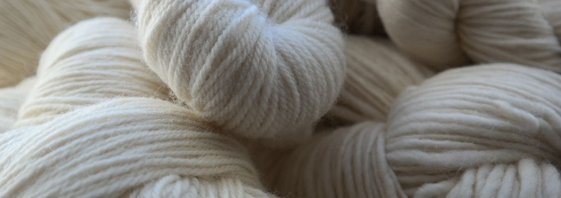 UK spun yarns for hand dyeing