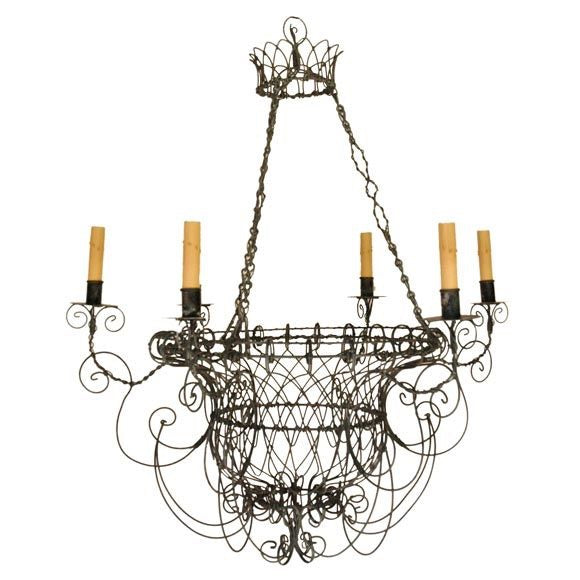 Wirework chandalier