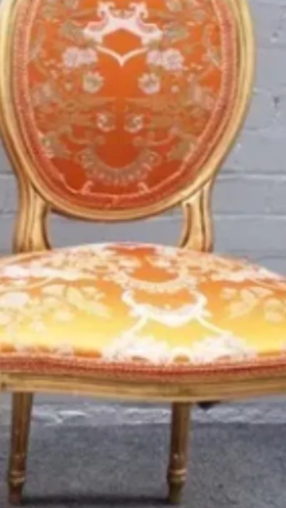 Louis giltwood chair