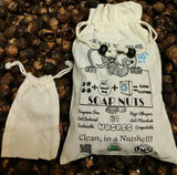 87 Washes Size Small .55 lbs of Soap Nuts + 1 Washing Bag + ONE FREE BRACELET PER UNIT ORDERED - Four   Nuts     By Nature     Soap Nuts  - 1