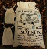350 Washes Size Large 2.2 lbs of Soap Nuts + 2 Washing Bags + ONE FREE BRACELET PER UNIT ORDERED - Four   Nuts     By Nature     Soap Nuts  - 1