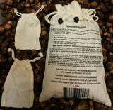 175 Washes Size Med. 1.1 lbs Soap Nuts + 2 Washing Bags + ONE FREE BRACELET PER UNIT ORDERED - Four   Nuts     By Nature     Soap Nuts  - 2