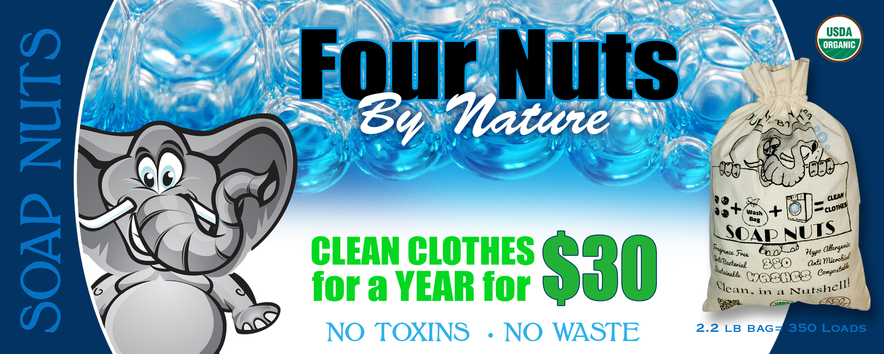 Four Nuts By Nature Soap Nuts
