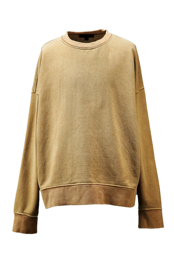Heavy Cotton Sweater KHAKI