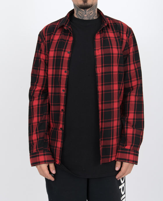 flannel red 1