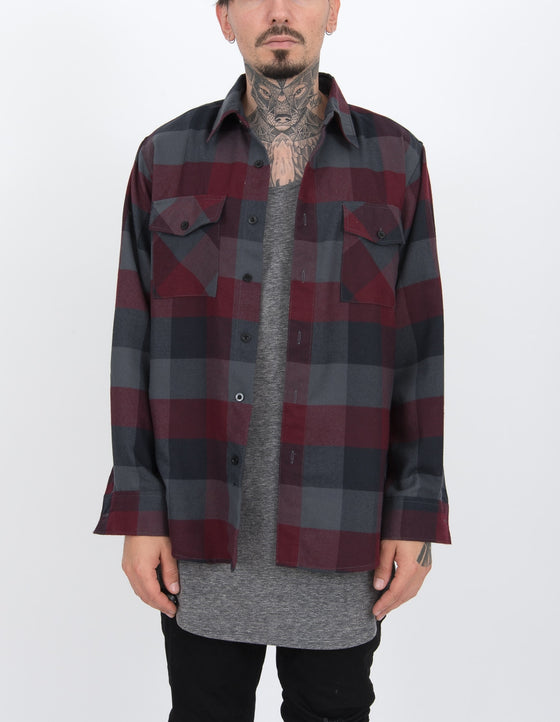 Bordo Flannel 1