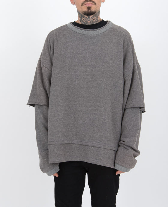 Oversize Sweater  Grey 1