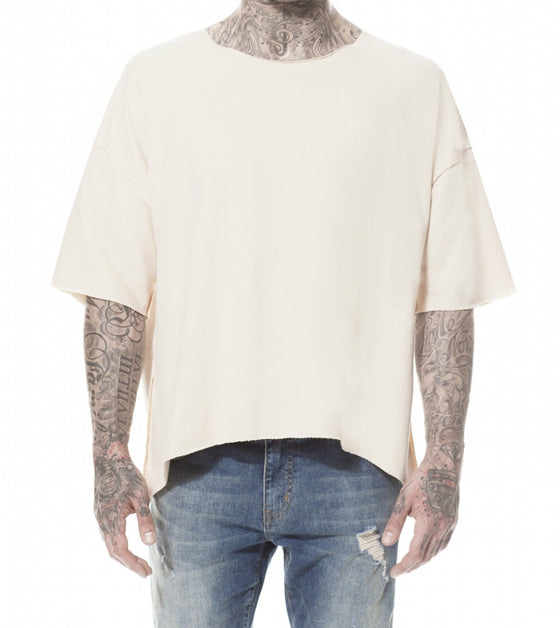 SAND INSIDE OUT JERSEY T-SHIRT