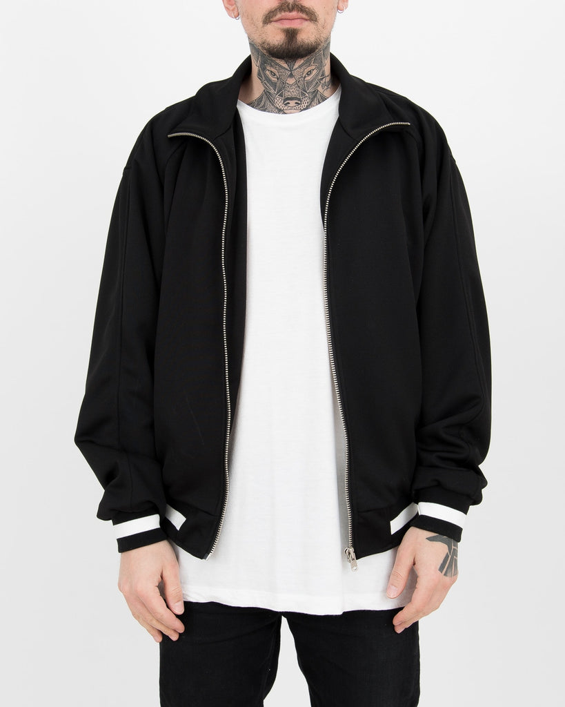 Black Loose Track Jacket