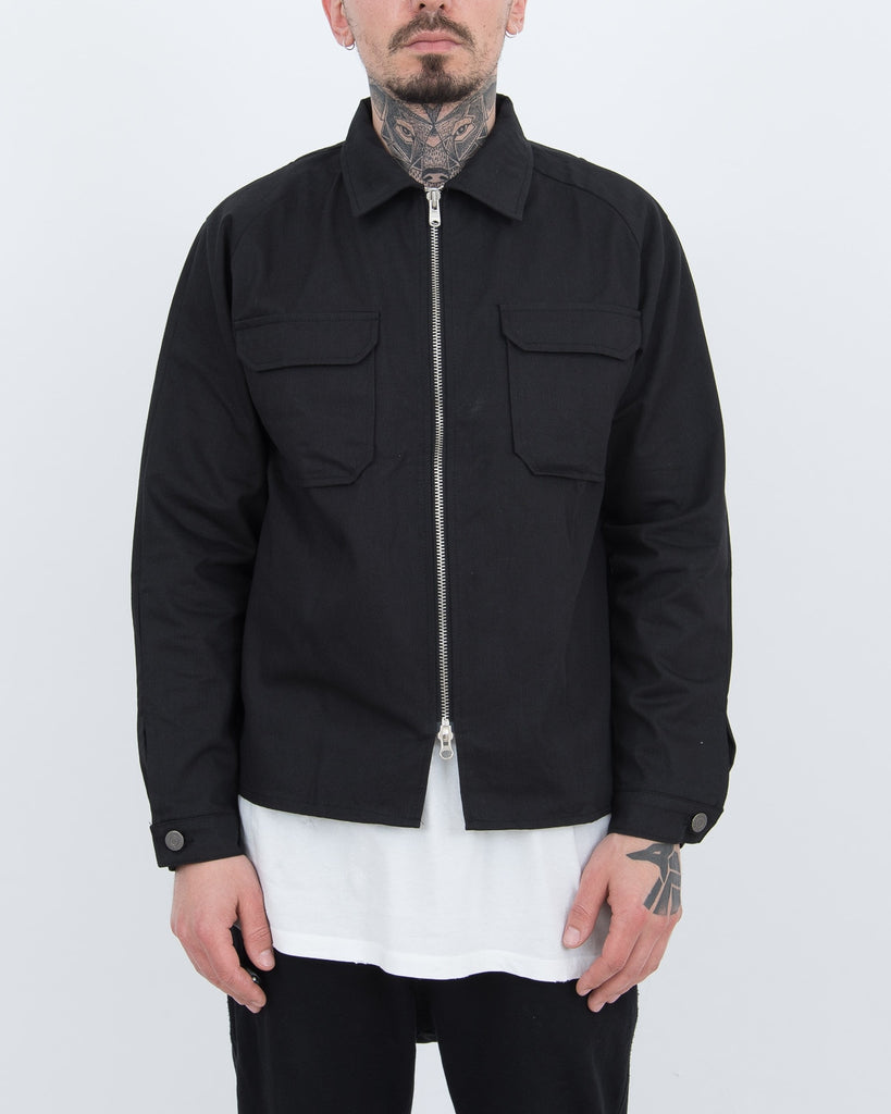 Black Pocket Jacket