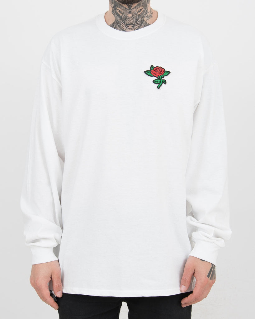 Rose Longsleeve White