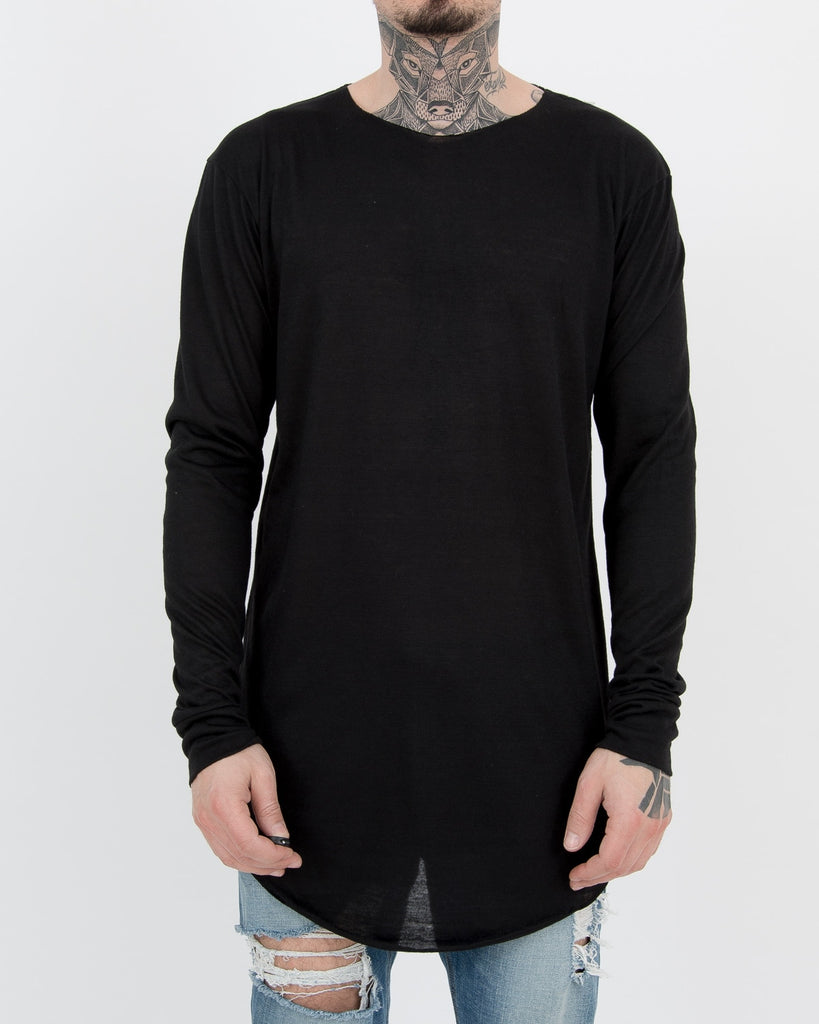 RAW Longsleeve  Black