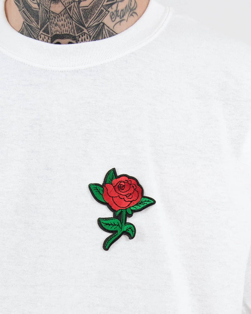 Rose T-Shirt Ash Grey