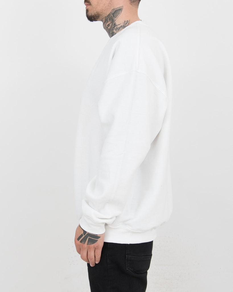 Rose White Sweater