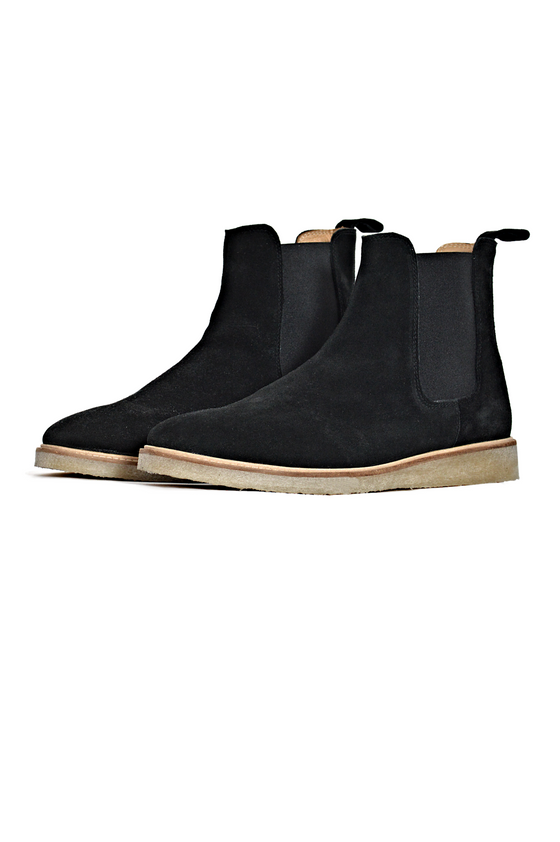 JOAO CHELSEA BOOTS SPACE BLACK