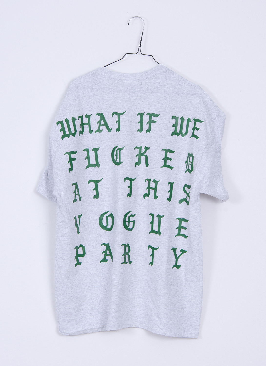 Vogue T-Shirt Green/Grey