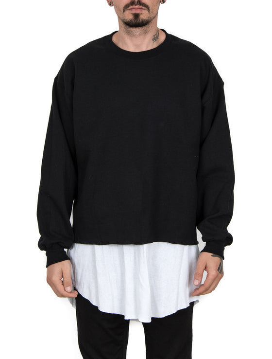 RAW Black Sweater
