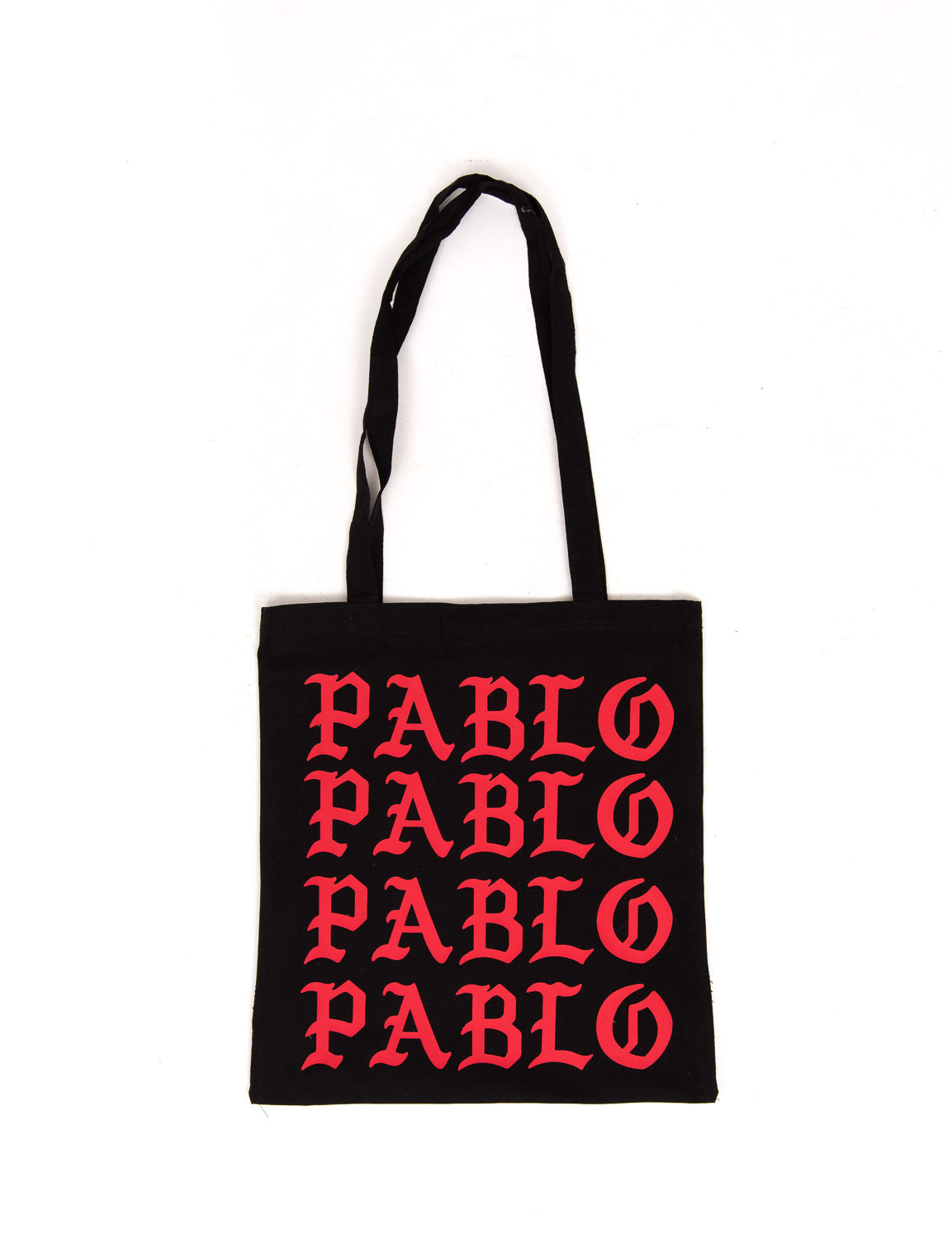 Pablo Cotton Shopper Red/Black