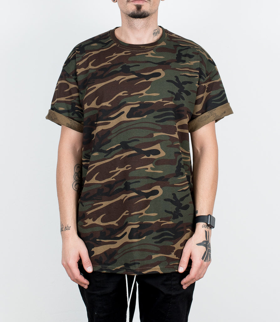 Green Camouflage Tee