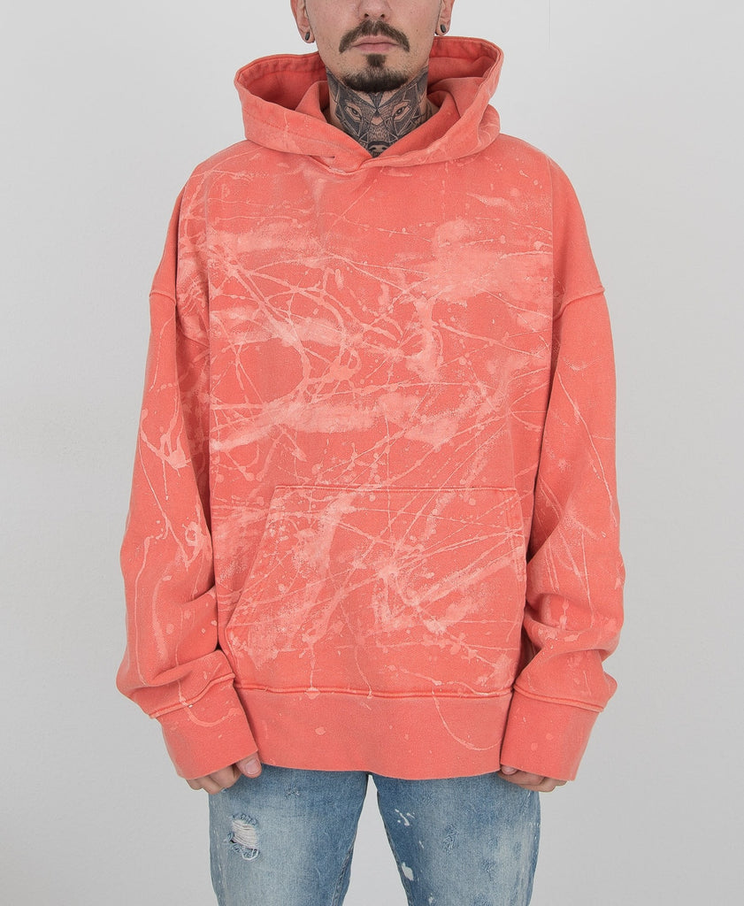Heavy Cotton Crack Hoodie CHARCOAL