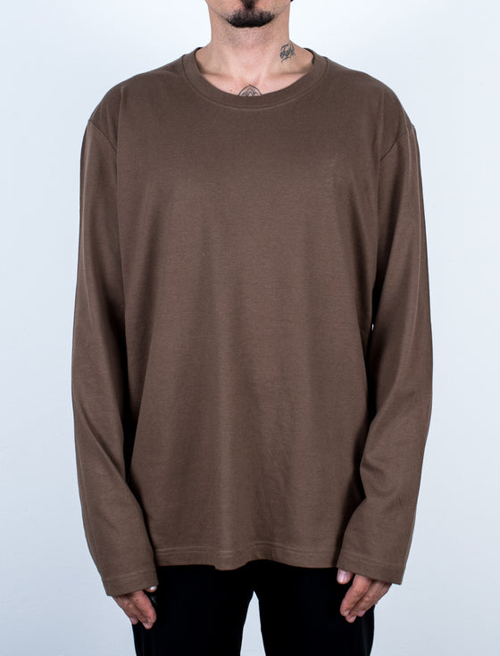Loose Fit Longsleeve Brown