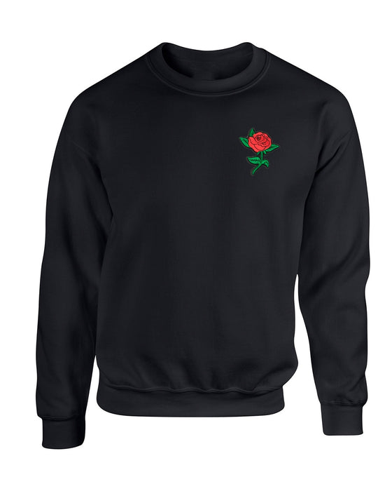 Rose Black Sweater
