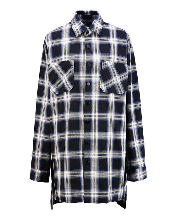 Black Back Check Flannel