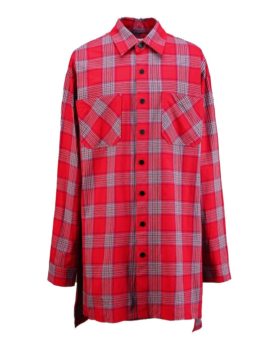 Red Back Check Flannel