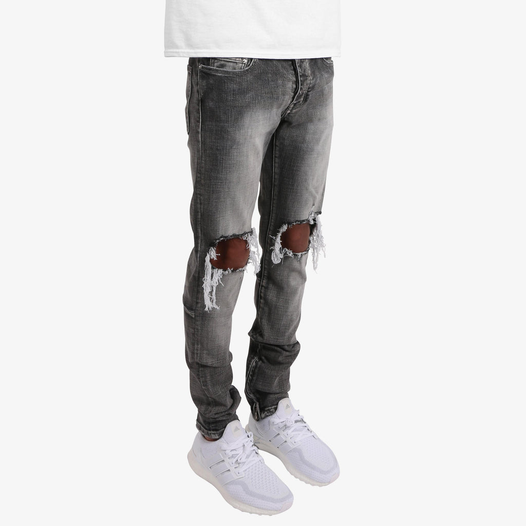 M1 STRETCH DENIM - GREY