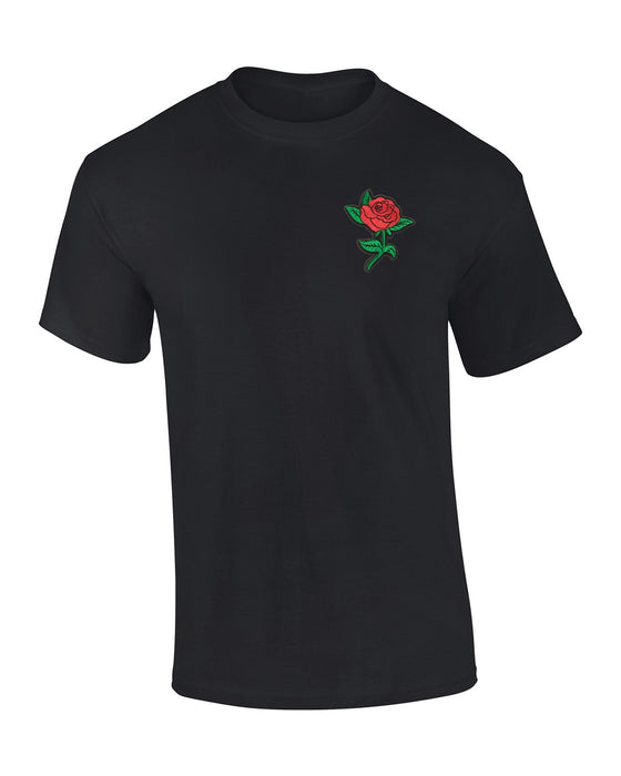 Rose T-Shirt Black