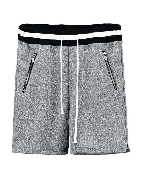 Grey Heavy Cotton Shorts