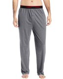 Hanes men's big knit pant with set-on elastic