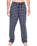 Noble mount men's cotton flannel lounge pants