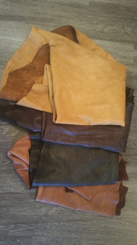 Yak Leather - Chocolate