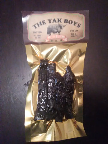 Yak Jerky, Sweet Spicy, 1 oz.