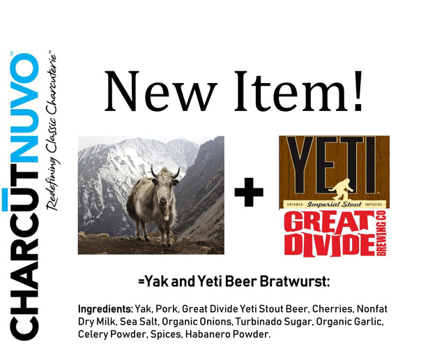 Yak and Yeti Bratwurst