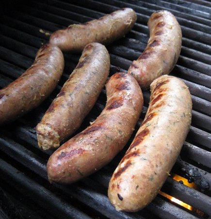 Yak Bratwurst Heaven - Try All 3 of Our Yak Brats!, 10 lb. Sampler