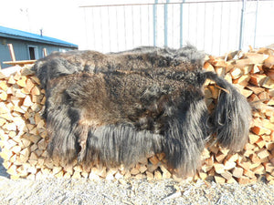 Hair on Yak Hide