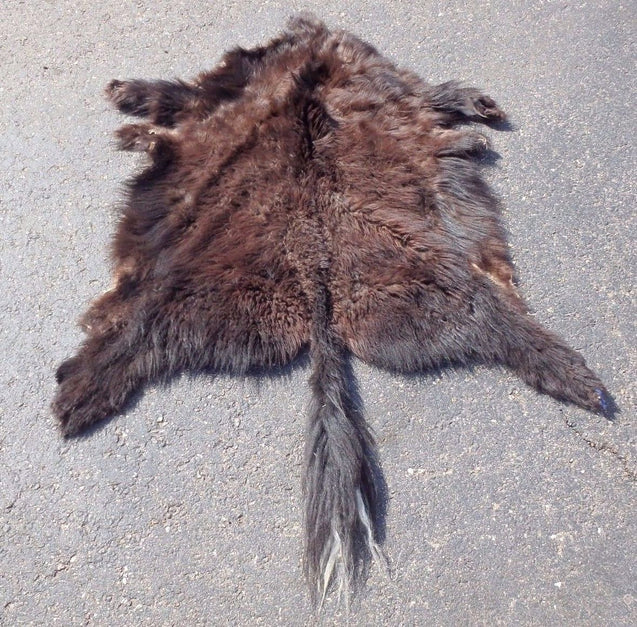 Yak Hair On Hide