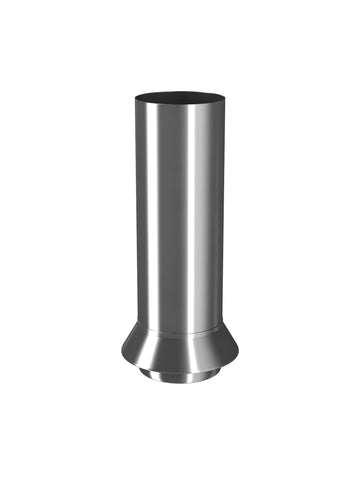 87mm Plain Galvanised Drainage Connector