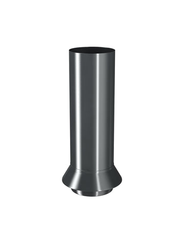 87mm Dark Grey Prelaq Steel Drainage Connector