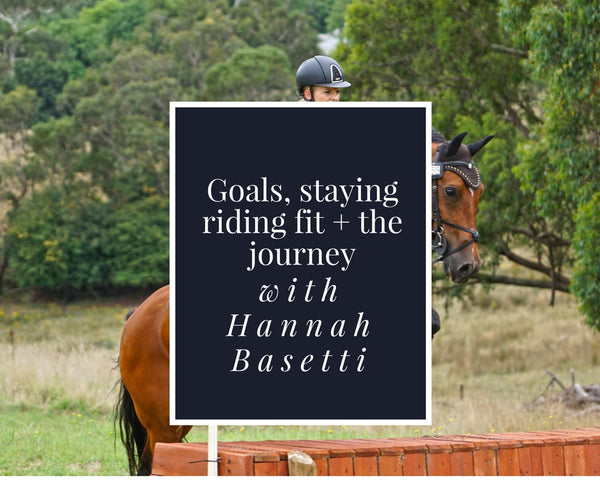 Down the Centreline | 5 minutes with aspiring eventer Hannah Basetti