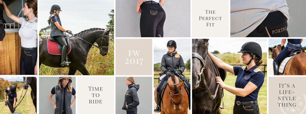 About Foxtrot Horsewear - Makers of equestrian clothing for women