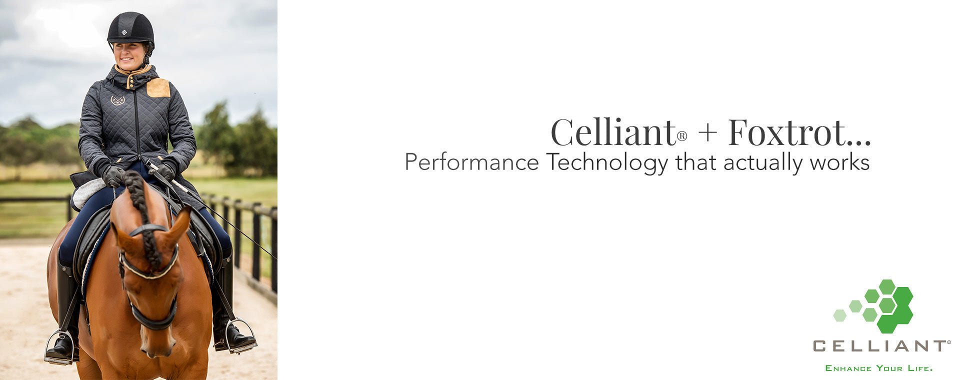 Using Infrared technology to enhance your horse riding Celliant + Foxtrot