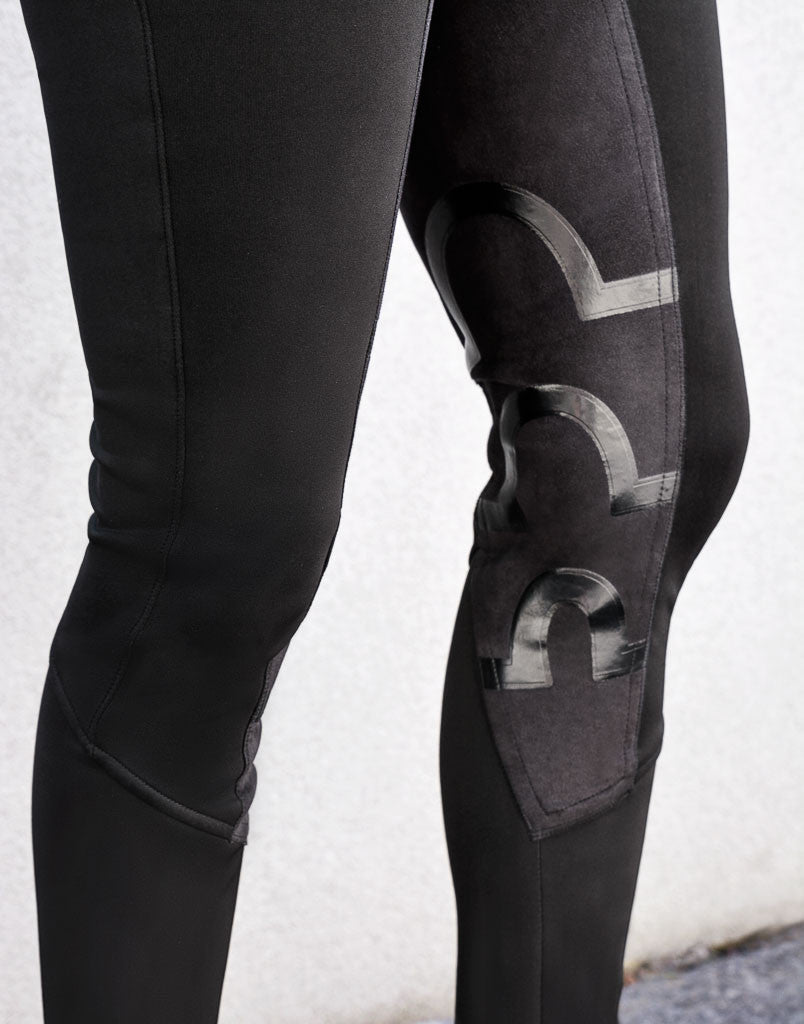 Harper Full Seat Lux-Grip Riding Breeches | Black (SOLD OUT - SORRY) - Equestrian Fashion | Foxtrot Horsewear