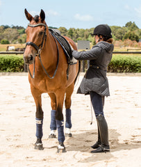 Ladies Quilted Horse Riding Coat | Equestrian Clothes | Foxtrot Horsewear