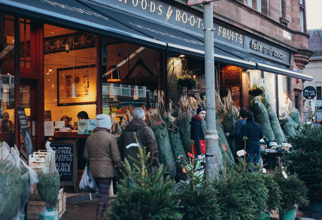 Christmas at Roots Fruits & Flowers