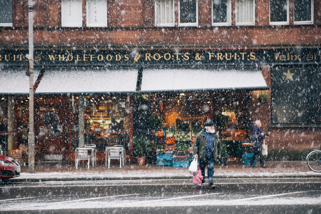 A Snow Day in Glasgow