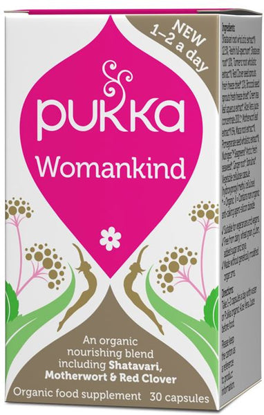 Pukka 'Womankind' Formula - Roots Fruits & Flowers Glasgow