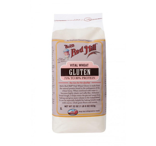 Bob's Red Mill Vital Wheat Gluten Flour - Roots Fruits & Flowers Glasgow - 1